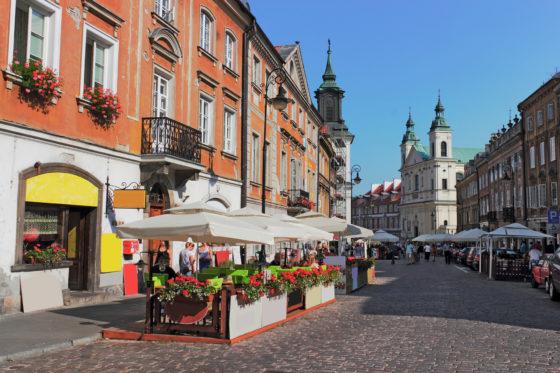Варшава улицы