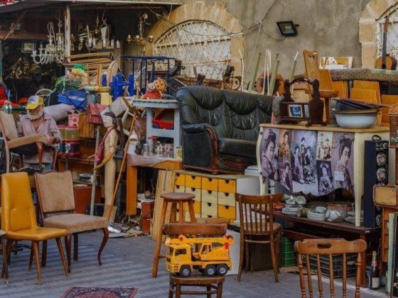 Блошиный рынок Тель Авив, Направления