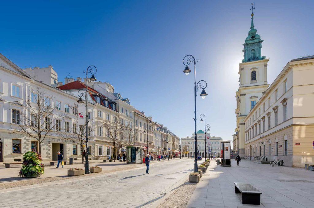 Варшава королевский путь