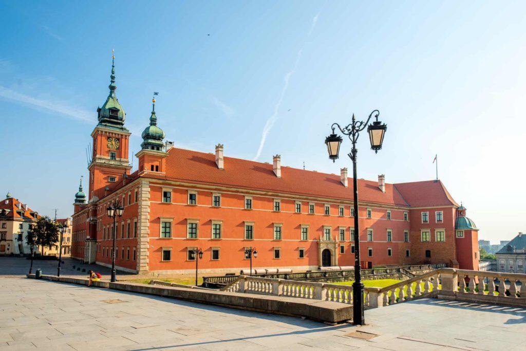Варшава королевский замок