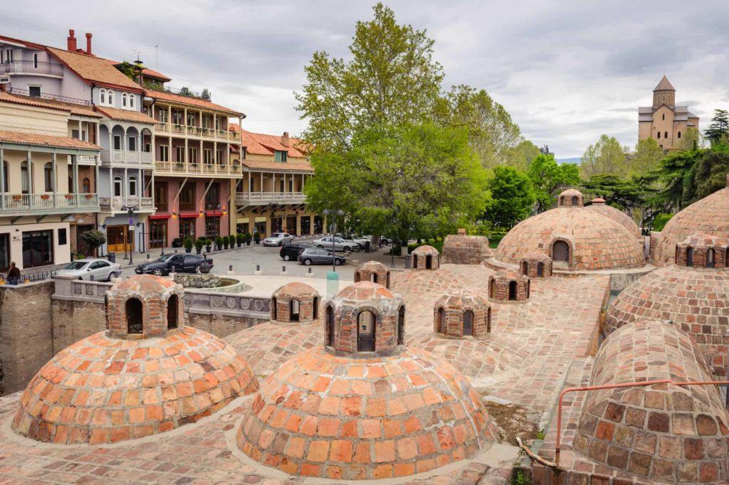 тбилиси термальные источники