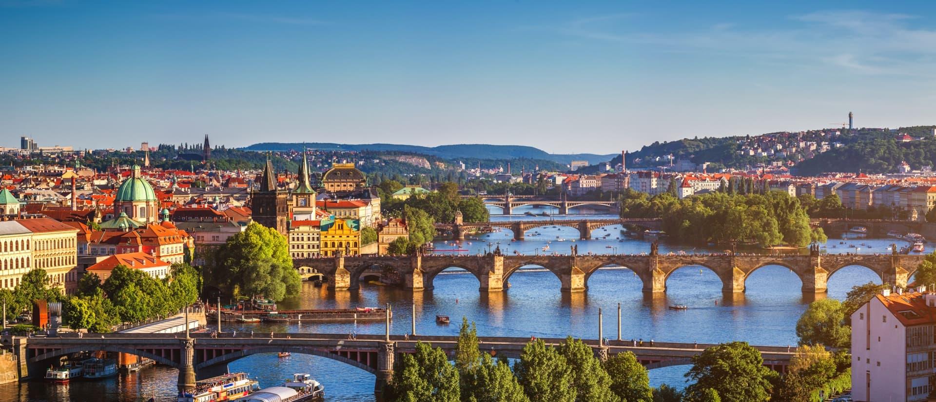 Днепр — Прага