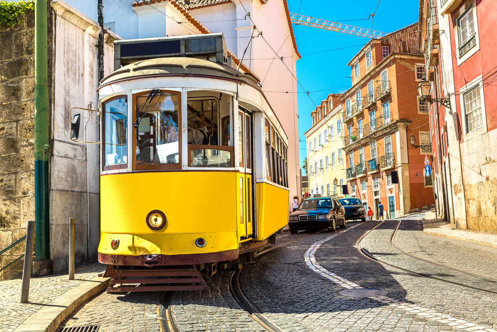 Ride Tram 28 Lisbon