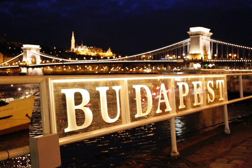 Цепной мост, Будапешт