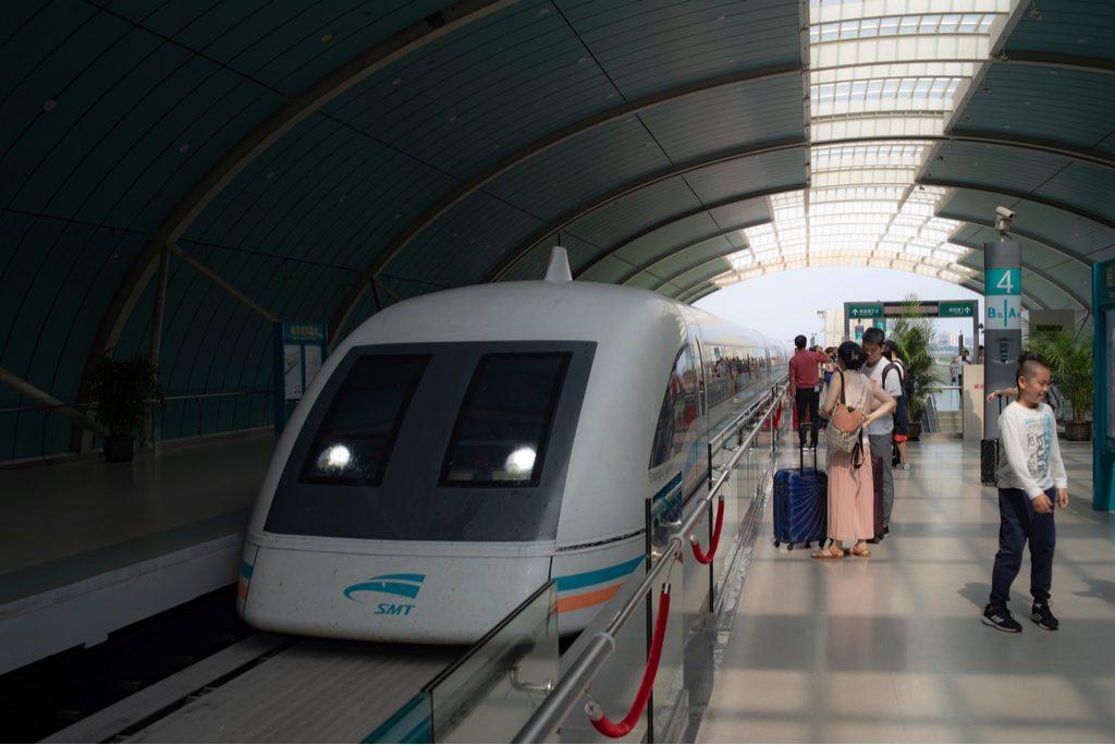 shanghai-china-06082019-highspeed-maglev-train