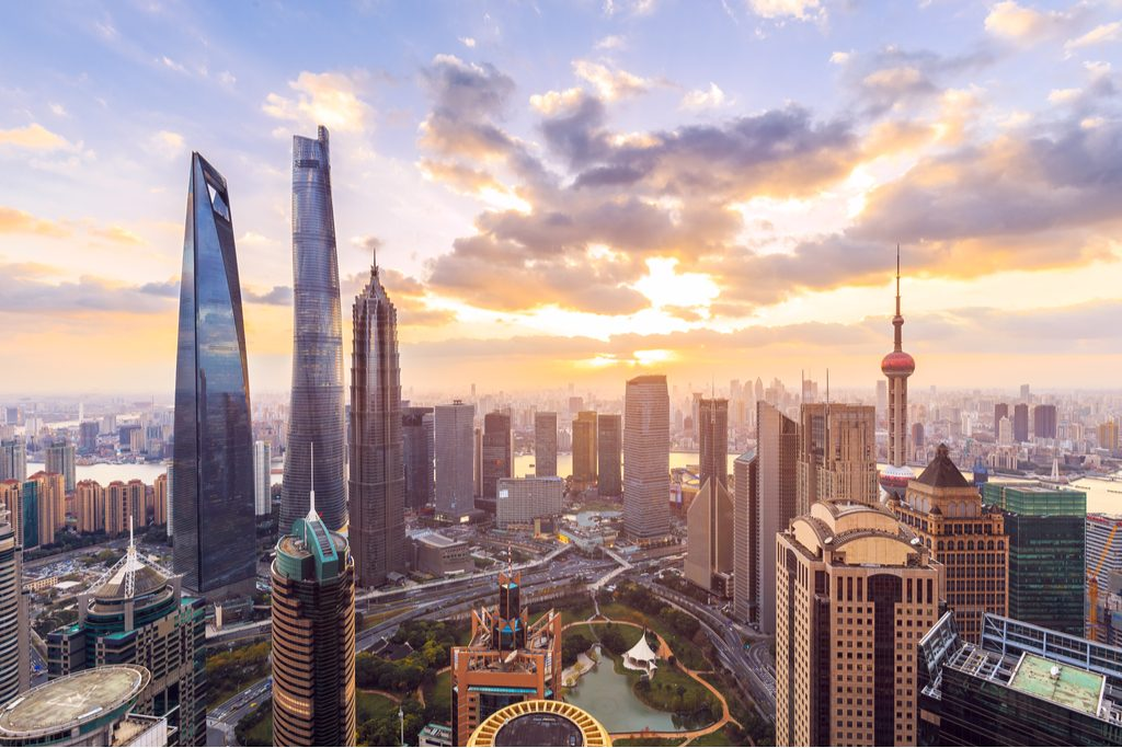 shanghai-skyline-cityscape-sunset
