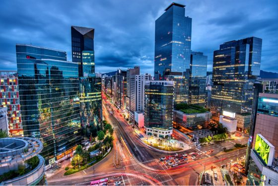 view-downtown-gangnam-square-seoul-korea