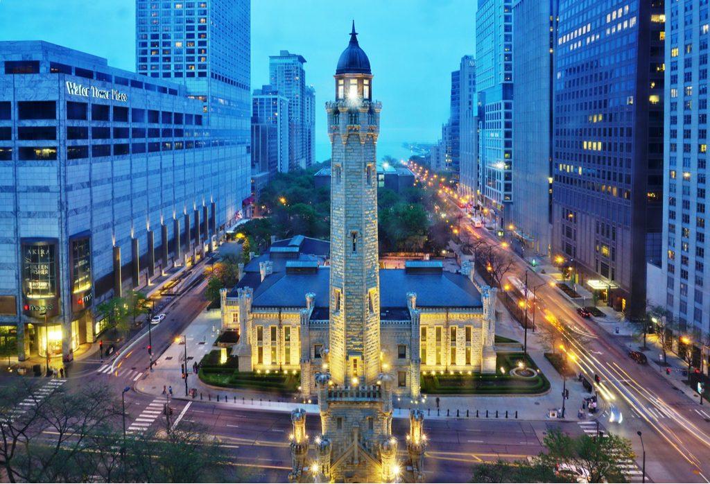 chicago-il-1-march-2015-landmark
