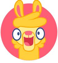 Crazy llama